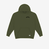 """Logo"" Pullover Hoodie (Army)"