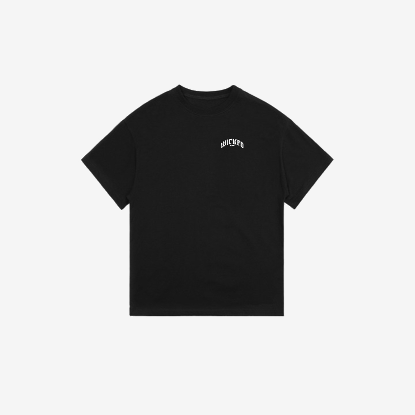 """Logo"" Essential Tee (Black)"