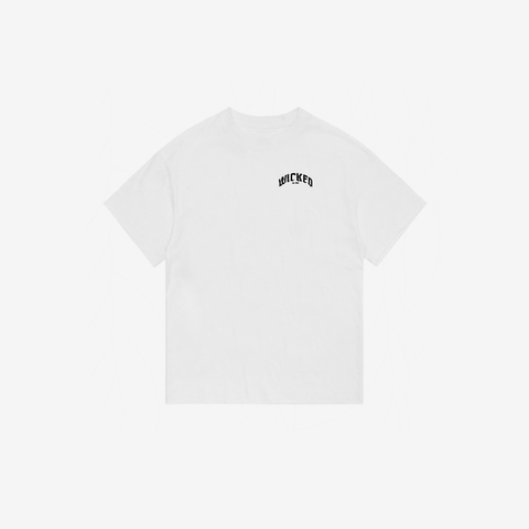 """Logo"" Essential Tee (White)"