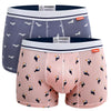 2 pack animal printed bamboo underwear