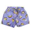 Boys banana print board shorts