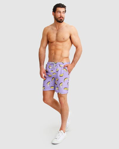 Male swim shorts with prints