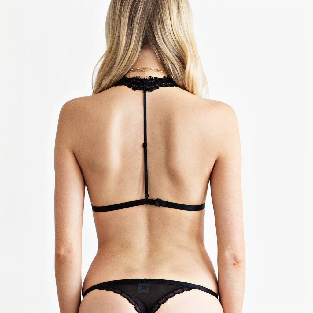 BLACK LACE SET - Mosmann Australia