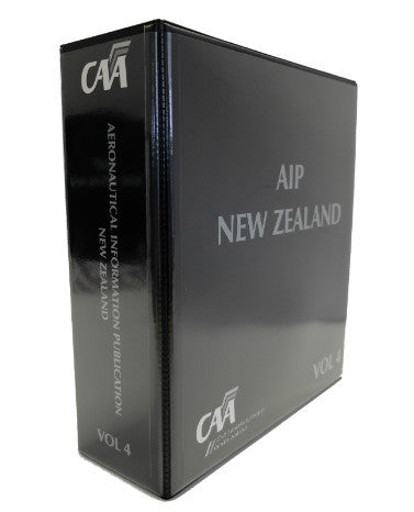 Hard Cover Binder 70 mm, Cover, Spine & Tab Set suits AIPNZ Vol 4