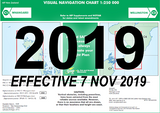 C1/C2 Visual Navigation Chart - Whangarei/Wellington (1:250,000) - 7 Nov 2019
