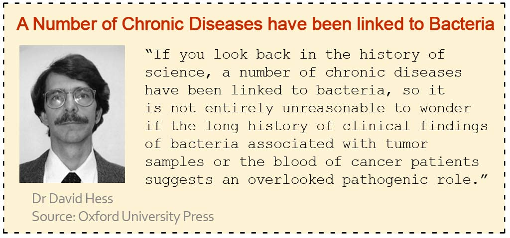 Chronic Diseases Have been linked to Bacteria