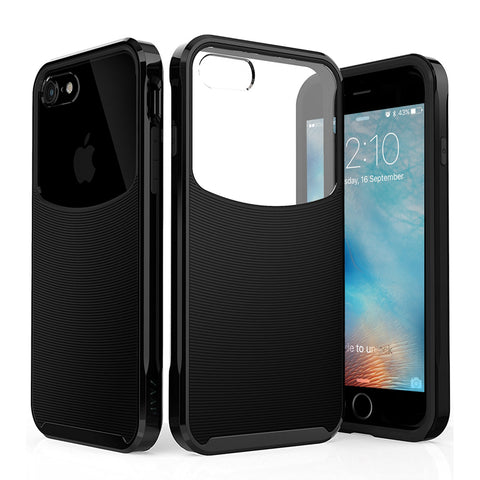 HYBRID IPHONE 7 CASE (BLACK)