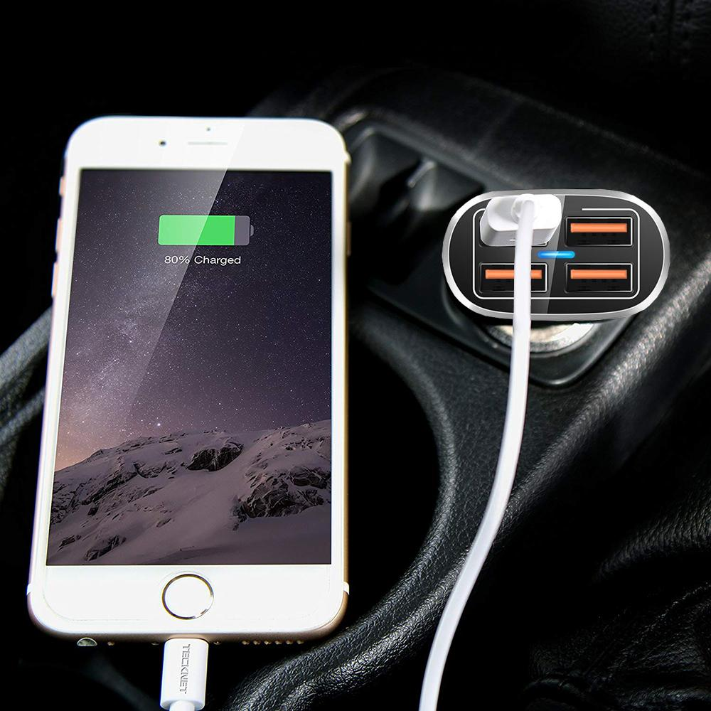 FOUR PORT TURBO CAR CHARGER
