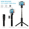 ZAAP NUSTAR 6 Integrated Foldable TRIPOD Bluetooth Light Weight Aluminum Premium Selfie Stick