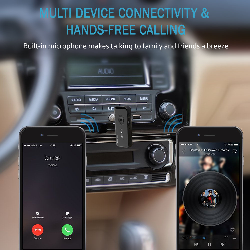BLUETOOTH RECEIVER/CAR ADAPTER