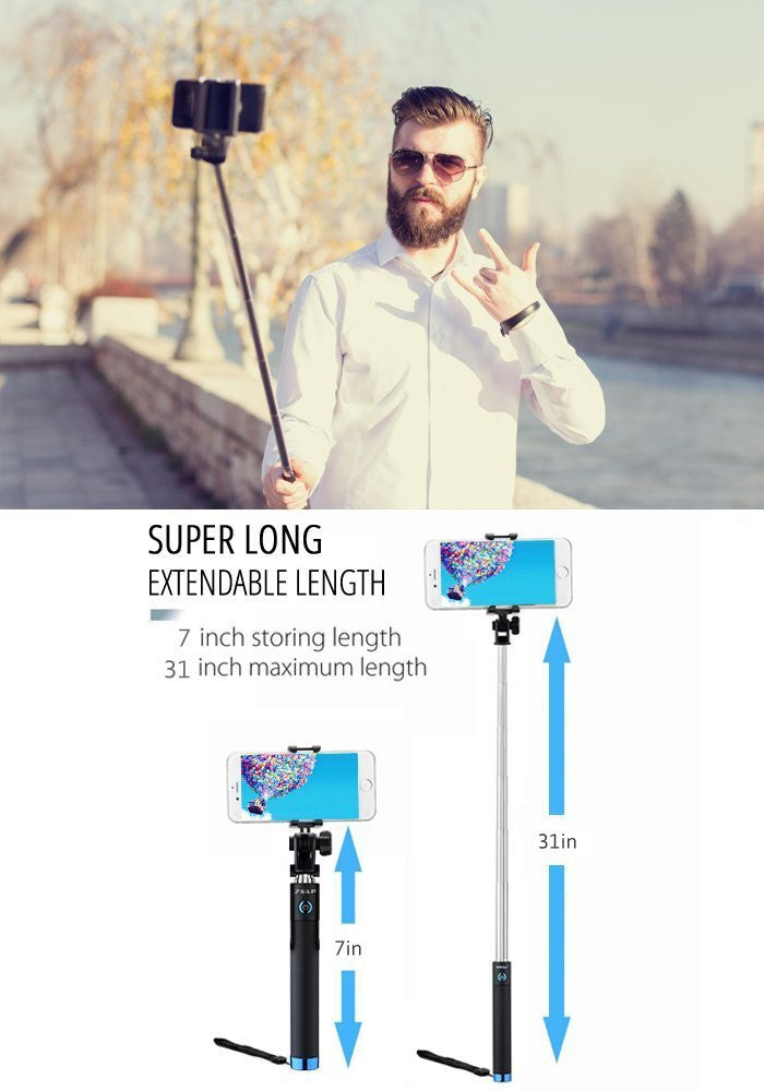 NUSTAR-2 BLUETOOTH SELFIE STICK