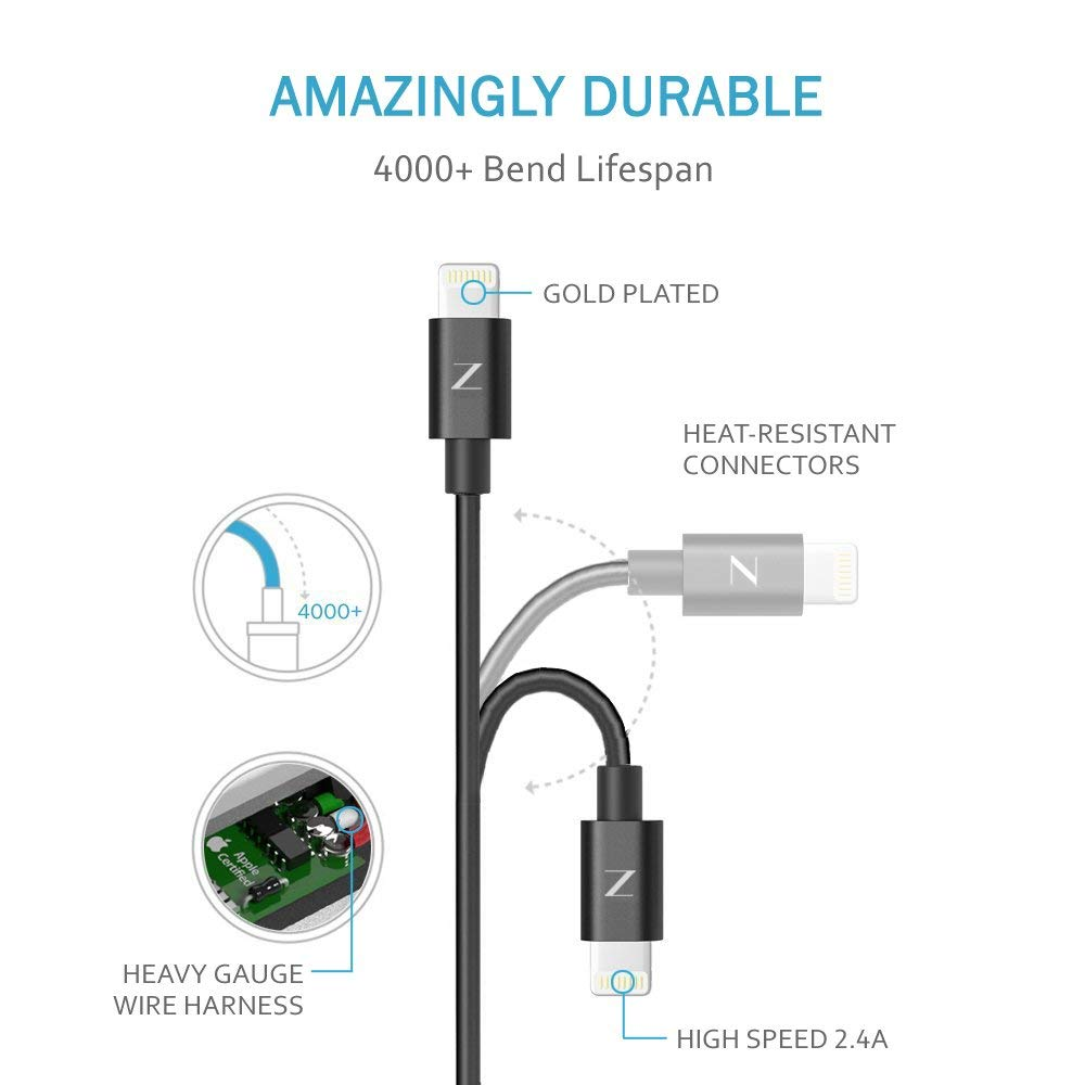 ZAAP LIGHTNING CABLE
