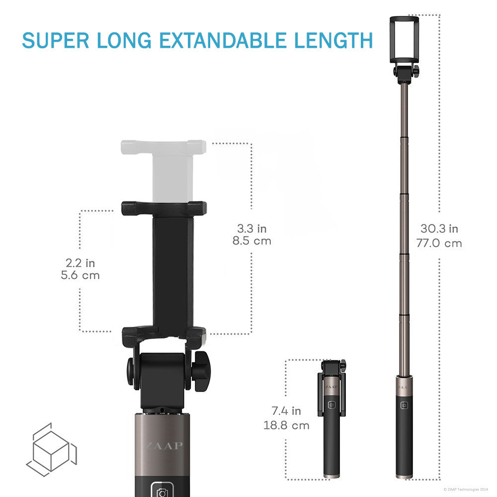 NUSTAR-5 BLUETOOTH  SELFIE STICK