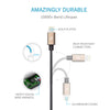 ZAAP UNBREAKABLE LIGHTNING USB CABLE