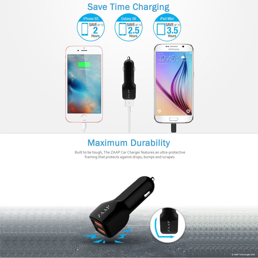TWO PORT TURBO CAR CHARGER