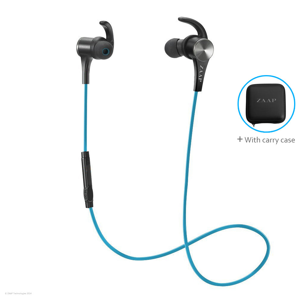 AQUA MAGENTO BLUETOOTH  HEADPHONES (BLUE)