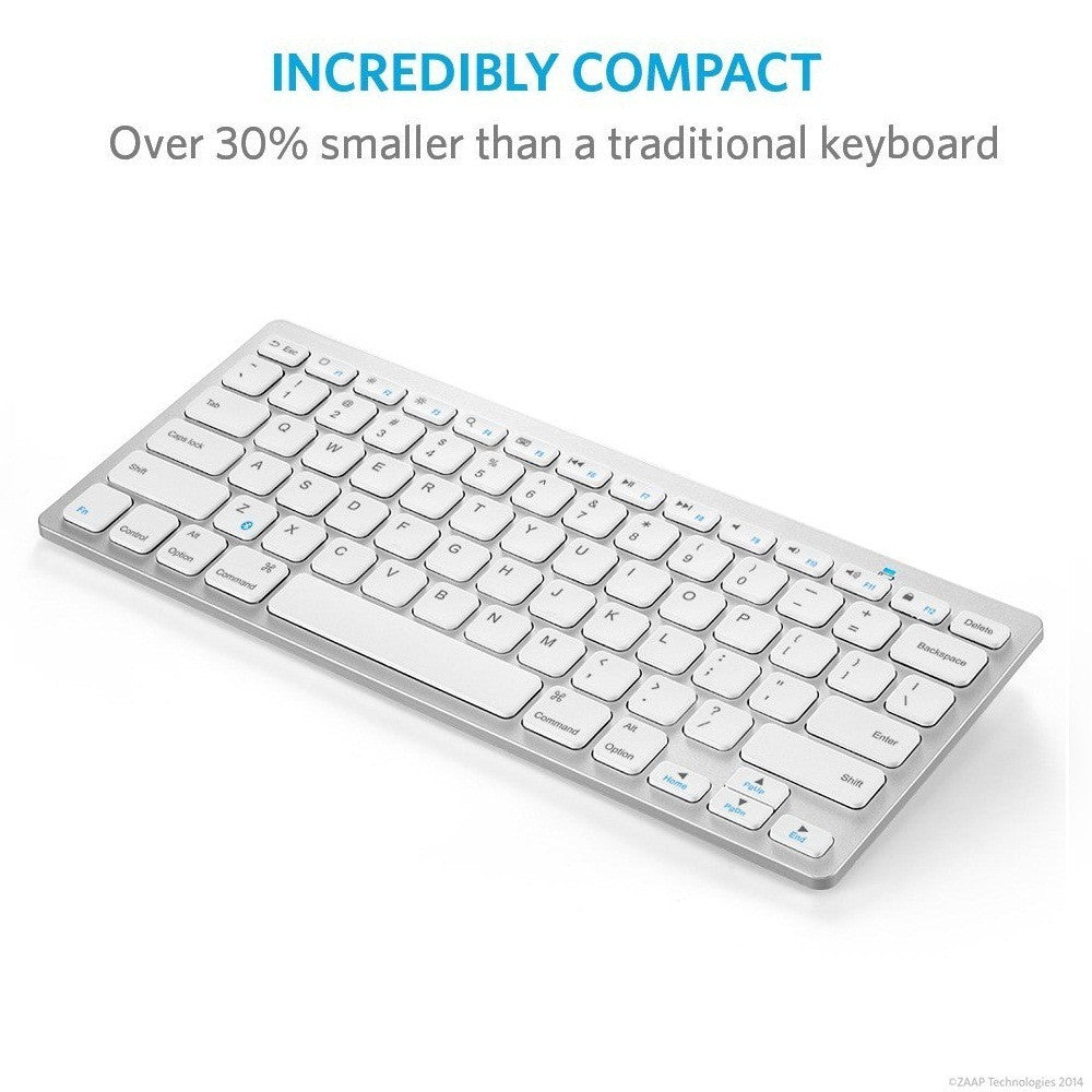 ULTRA SLIM PORTABLE BLUETOOTH KEYBOARD