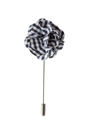 Carre Lapel Flower