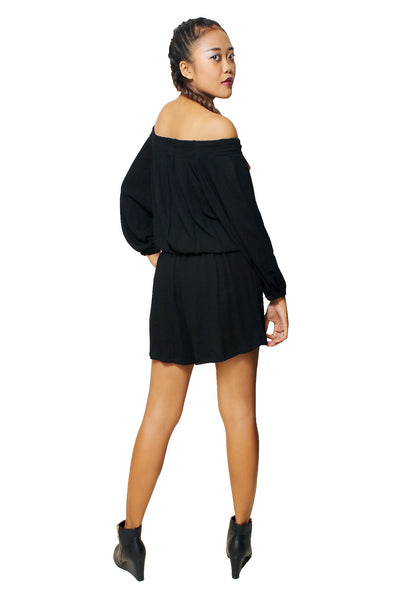 Jumpsuits - Marie Playsuit Black