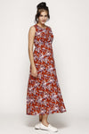 Michigan Maxi Dress Mocca Classic Rose