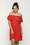 Nayla Dress Red