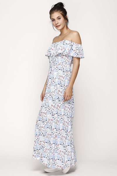 Nayla Maxi Dress Spring Blossom