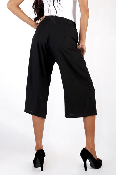 Bottoms - The Wallflowers Culotte Black