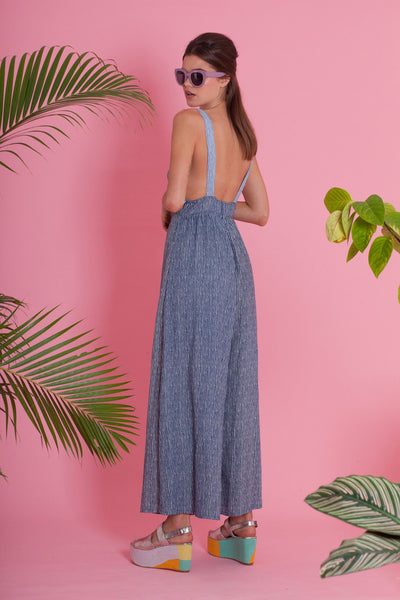 Premium Jumpsuit - Miro Jumpsuit - Chambray Mix