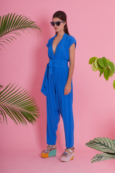 Premium Jumpsuit - The Apartment Jumpsuit - Blue