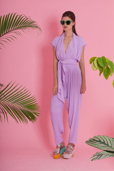 Premium Jumpsuit - The Apartment Jumpsuit - Lilac