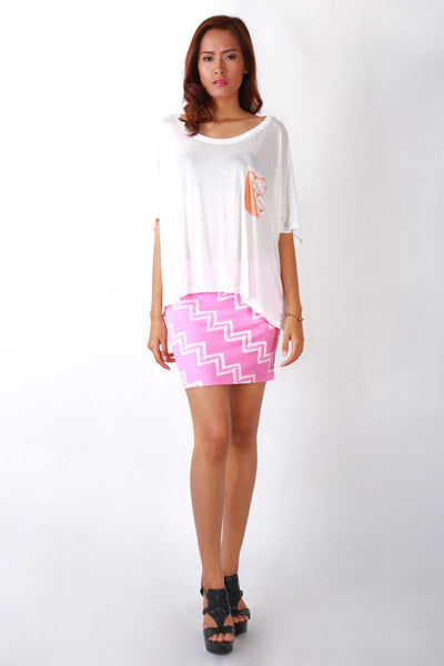 Skirt - Mini Skirt Tribal