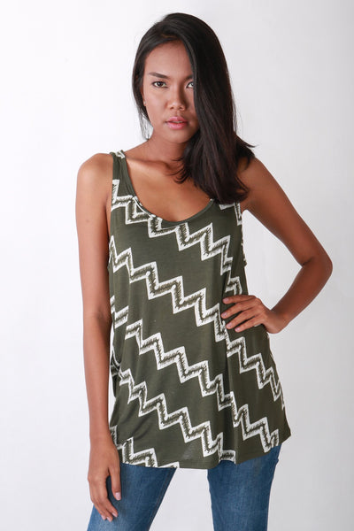 Top - All Year Tee Tank Tribal