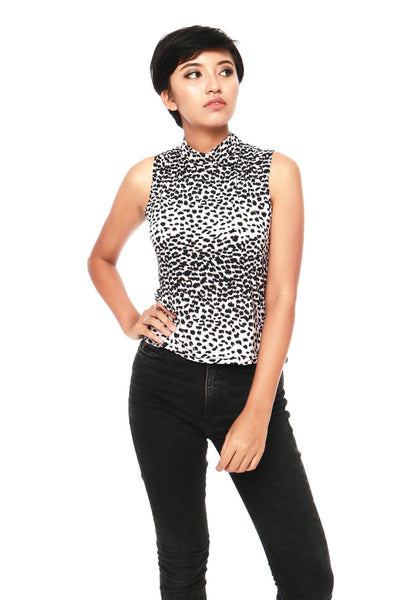 Top - Marlyn Leopard Top