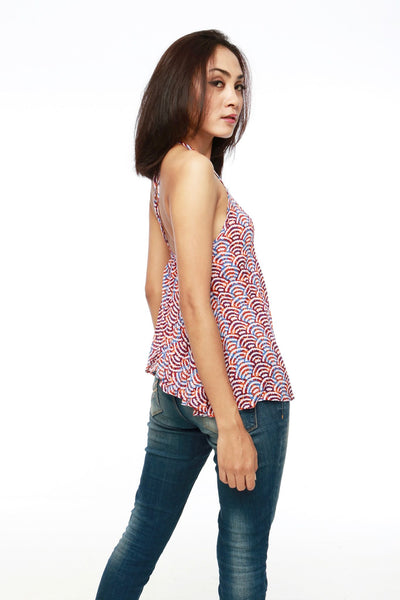 Top - Wendy Multicolor Top @ 30% Off!
