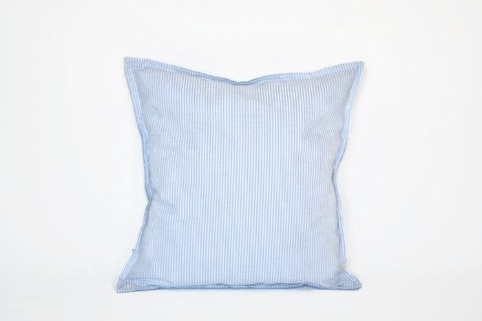 Cushion - Seersucker Blue