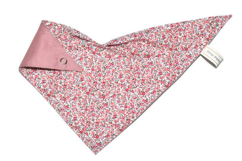 Girl Bandana Bib - Mini Flowers