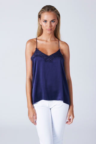 London Cami - Navy