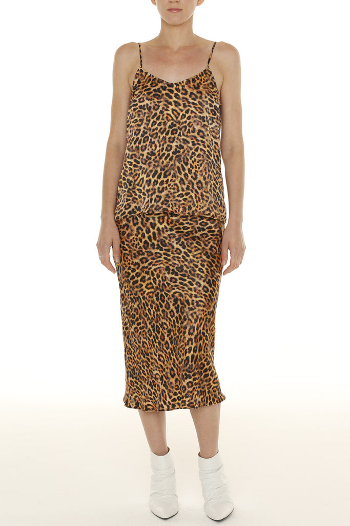 London Skirt - Leopard