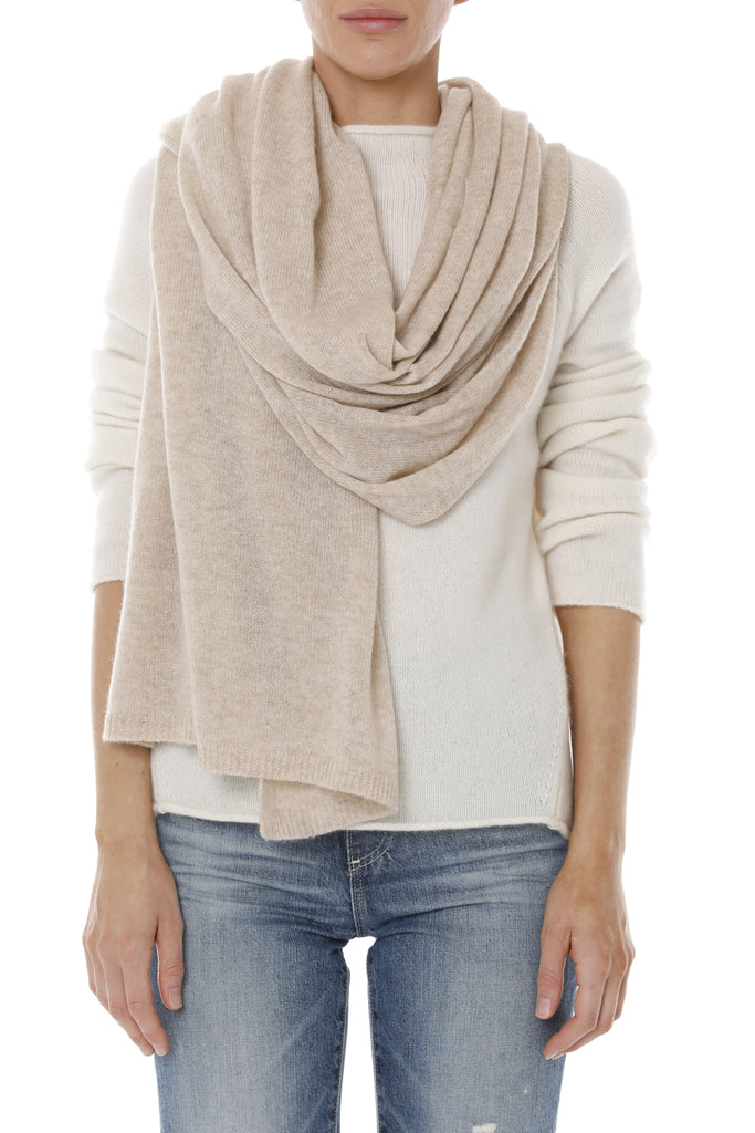 Cashmere Wrap - Taupe