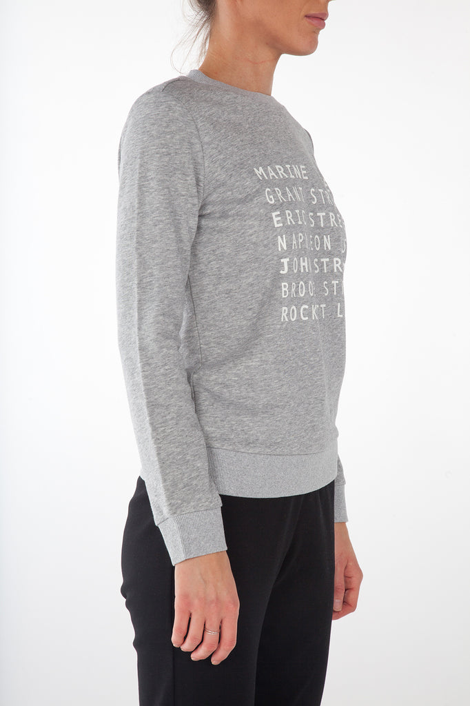 Sancia Streets Sweatshirt - Grey