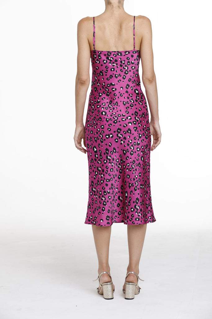 New York Dress - Fuchsia Cheetah