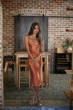 New York Dress - Terracotta