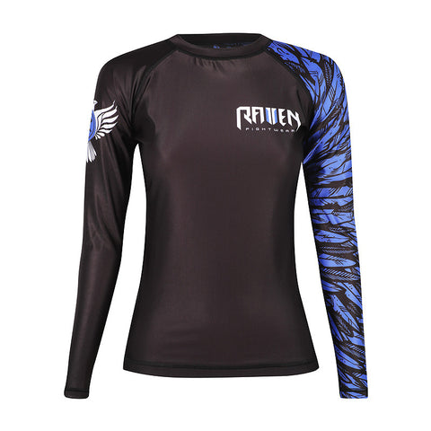 Raven Aerial Assault Womans Rash Guard - MrMMA - 1