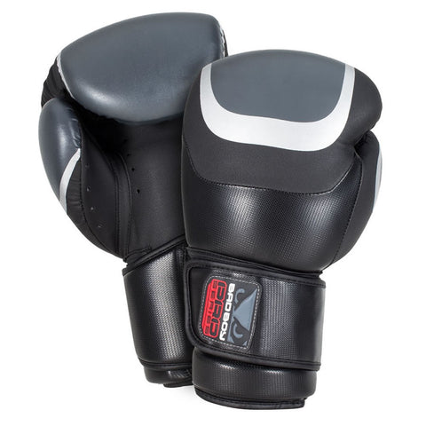 Bad Boy Pro Series 3.0 Classic Boxing Gloves Black/Silver 10oz