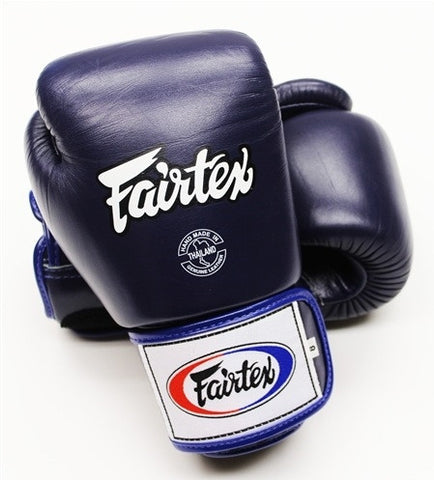 Fairtex Tight Fit Universal Gloves Blue 16oz