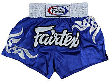Fairtex Tribal Blue Muaythai Shorts