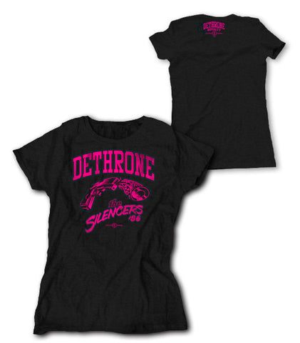 Dethrone Royalty The Sliencers Ladies T-Shirt -