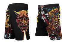 Raven Oni of Rashoumon Fight Shorts - MrMMA