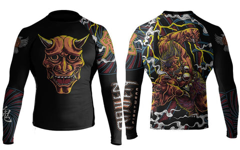 Raven Oni of Rashoumon Rash Guard - MrMMA