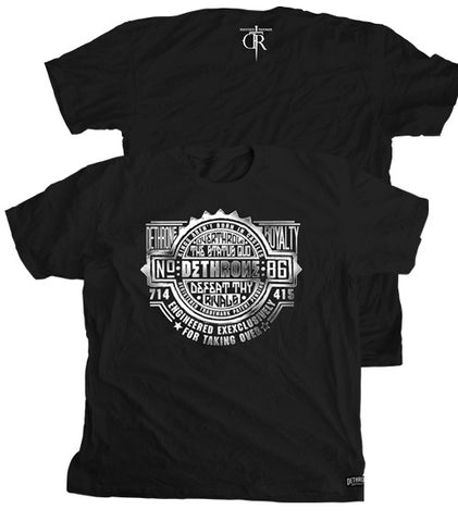 Dethrone Royalty Stamped T-Shirt -